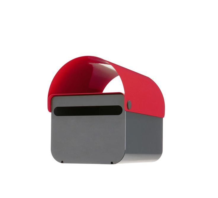 a colorful modern lockable mailbox by TomTom