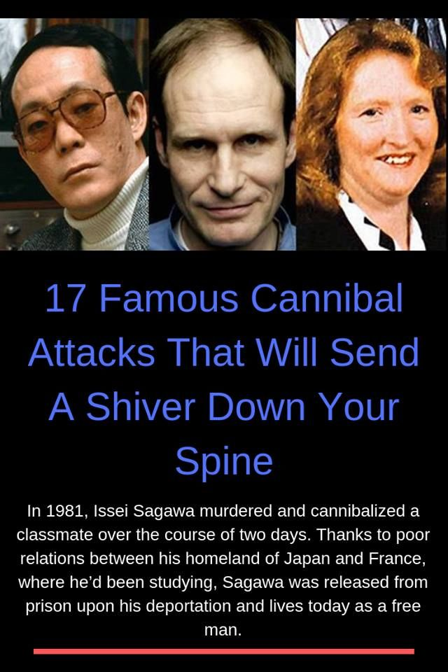 17 Acts Of Cannibalism That Will Send A Shiver Down Your Spine