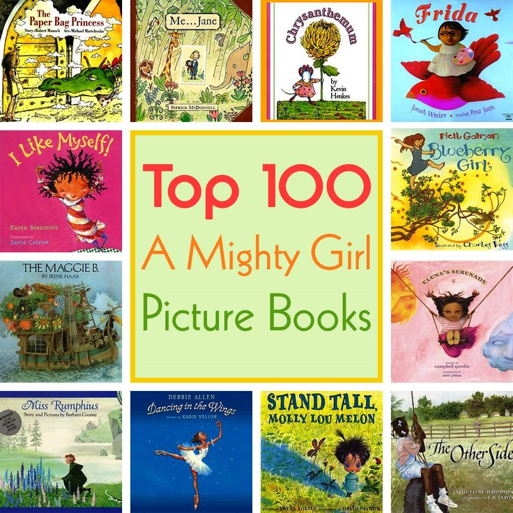 A Mighty Girl's special feature on the Top 100 Mighty Girl Picture Books features our carefully selected collection of gorgeously illustrated and beautifully written picture books all starring fantastic Mighty Girl characters! View the collection at http://www.amightygirl.com/mighty-girl-picks/top-picture-books