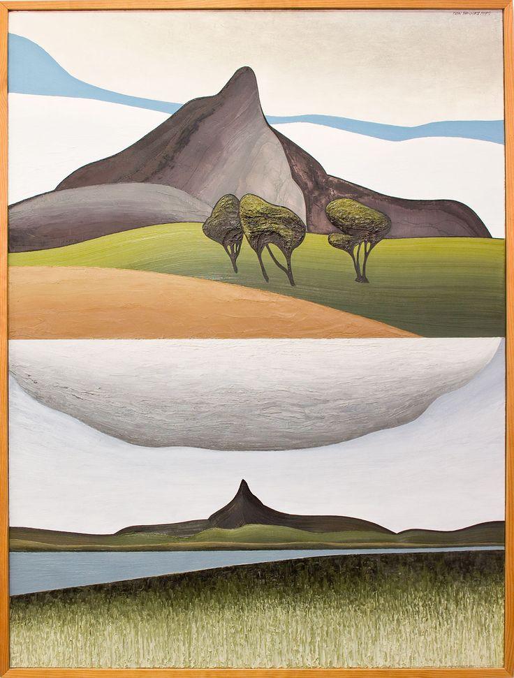 Two Aspects of Tokatoka by Don Binney