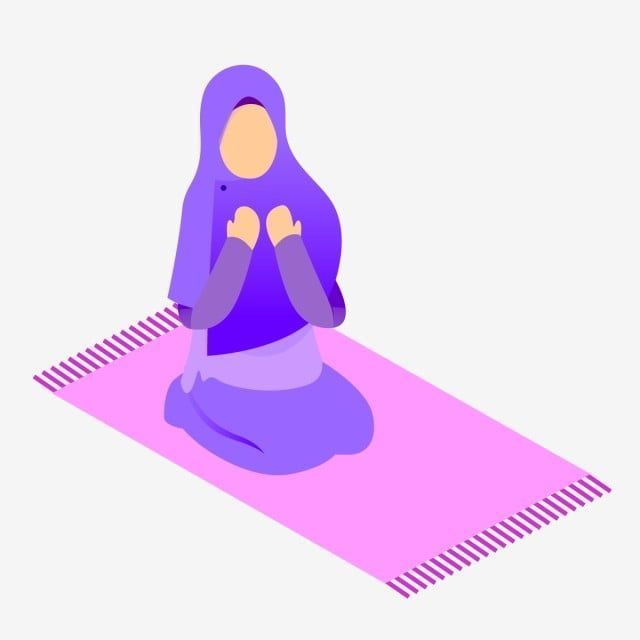 Muslimah Vector Sholat Doa Muslim Png And Vector With Transparent Background For Free Download Muslim Islamic Artwork Muslim Book