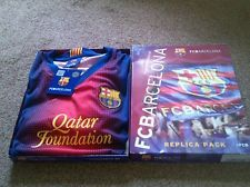 Junior Boys FCB Barcelona Football Kit Age 12