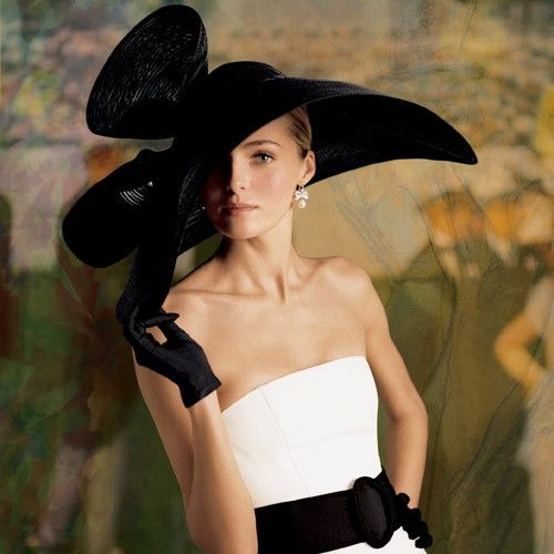 Gorgeous hat for those who dare