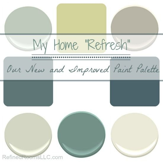 My Home Refresh: Our New and Improved Color Palette