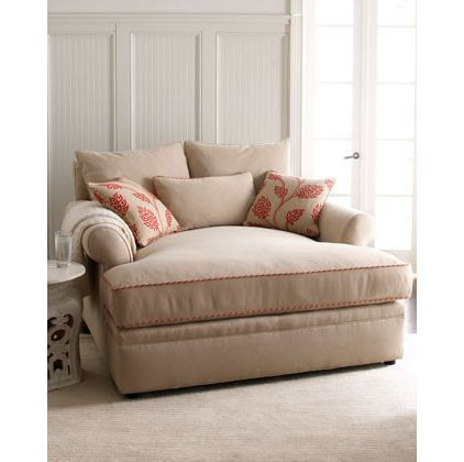 comfy over-sized reading chair