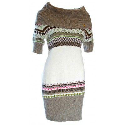 Šatový svetr se vzorem