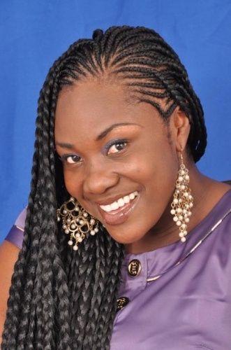 Enjoyable 1000 Ideas About African Braids Styles On Pinterest Braid Short Hairstyles Gunalazisus