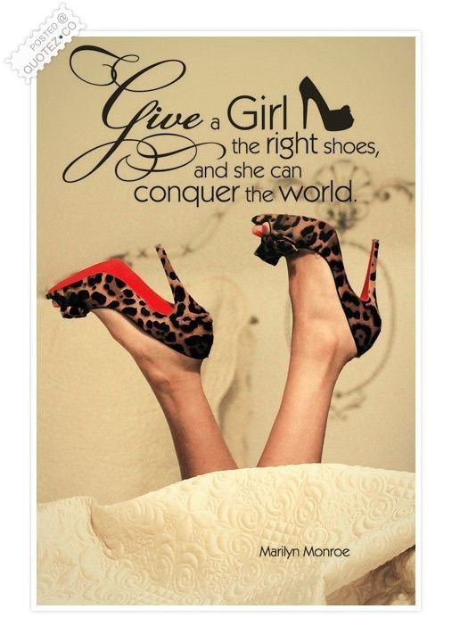 Conquer The World Quote - Marilyn Monroe