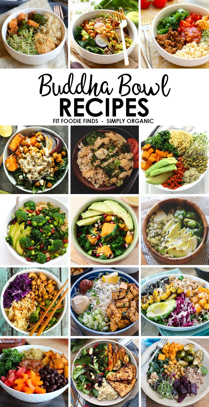 Best 50 healthy easy images on pinterest healthy meals cooking healthy buddha bowl recipes need to eat more veggies eat the rainbow with one of these delicious and nutrition backed buddha bowl recipes forumfinder Images