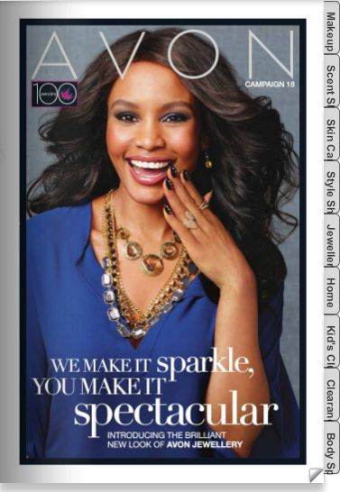 AVON with OPE: Current Brochure: Campaign 18