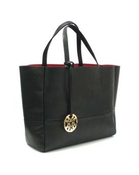 Black Leather Handbag, Debenhams