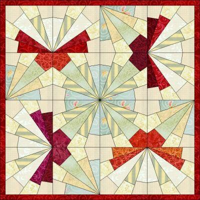 Patchwork pattern: Sunshine Butterfly