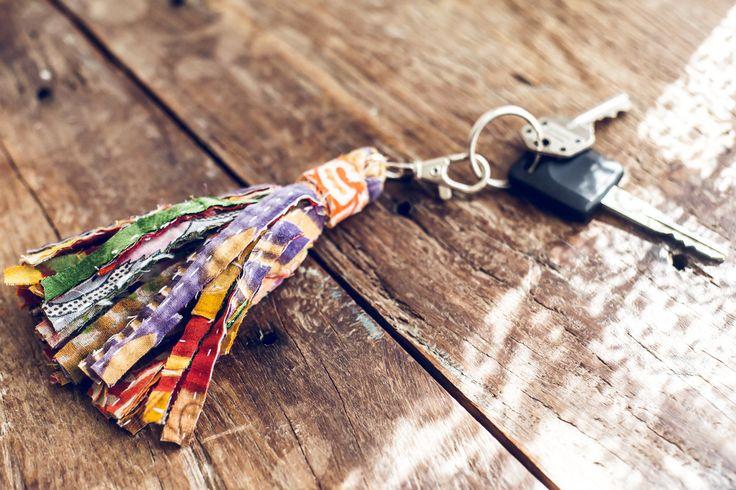 Wonderland Keychain by SoulMakes #bohemian