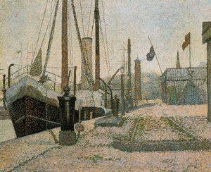 La Maria, Honfleur - (Georges Pierre Seurat)