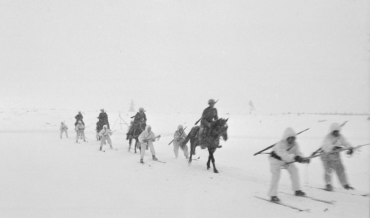 Finland 1939 The Finns recognize as the Winter War (against an invading Soviet Union): -1945 An experiment in troop transportation in cold weather.