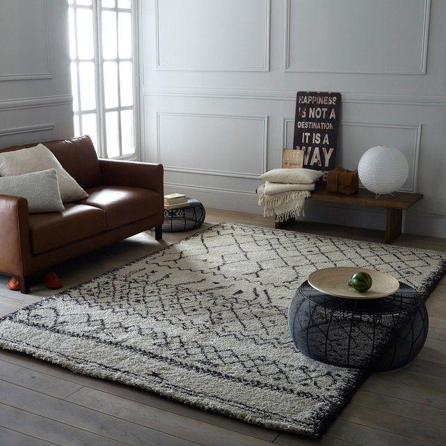 afbeelding Tapijt in berber stijl, 3 maten, Afaw La Redoute Interieurs