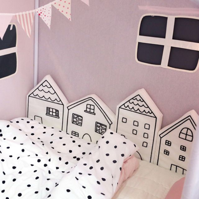 Nordic Baby Bed Bumper Infant Crib Cushion Baby Protector Newborn Cot Around Pillows Room Decor for Girl Boy Bedroom 4pcs/Set-in Bumpers from Mother & Kids on Aliexpress.com   Alibaba Group