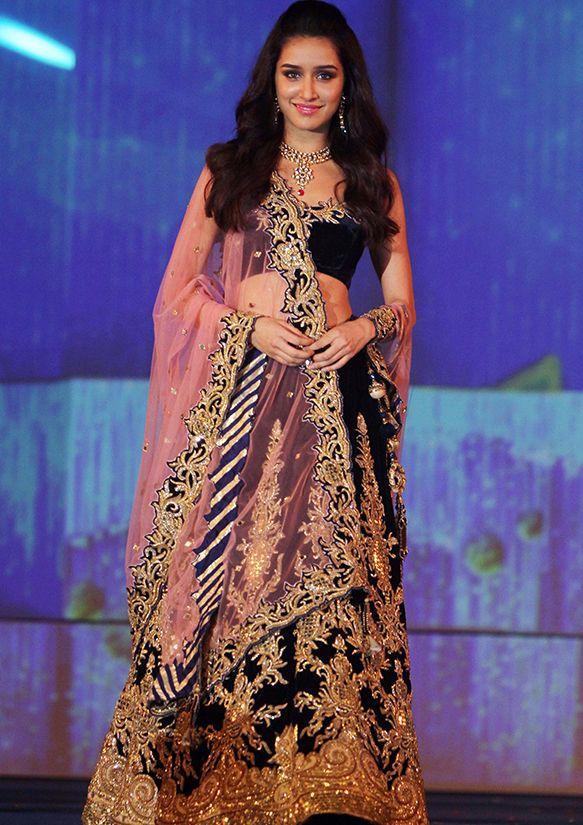 Shraddha Kapoor in Archana Kochhar lengha