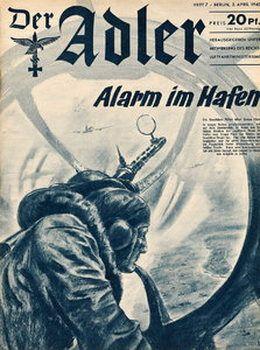 Picture for Der Adler №7 2 April 1940