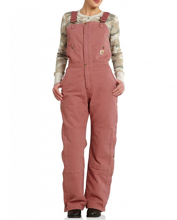 Carhartt® Ladies' Zeeland Insulated Bib $89.99 Fort Brands
