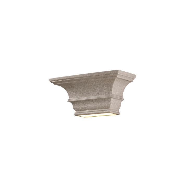Ambiance Rectangular Concave 1 Light Wall Sconce