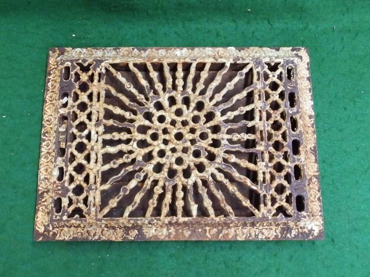 Details About Heat Vent Round Cast Iron Ornate Ceiling