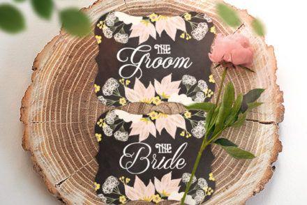結婚式GroomBrideテンプレート