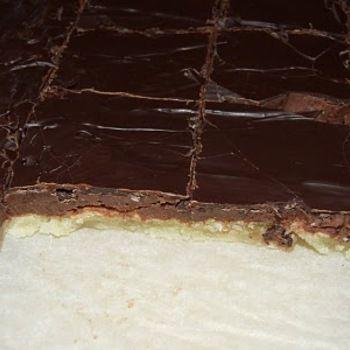 Chokladbiskvier i långpanna