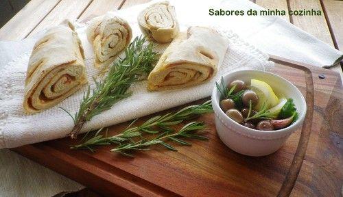 Pão com chourição - Sabores da minha cozinha