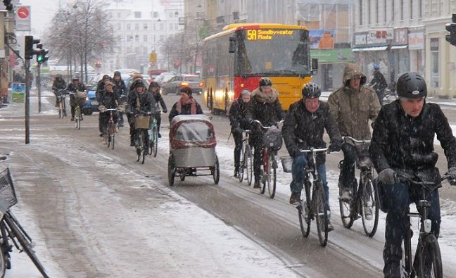 Copenhagen achieves more bikes than cars in city centre