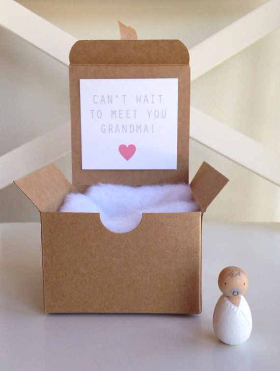 Pregnancy/Baby Gender announcement by madebylayla on Etsy