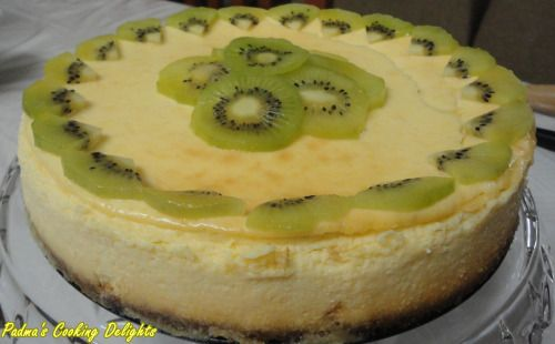 Padma's Cooking Delights:-Lemon Cheesecake