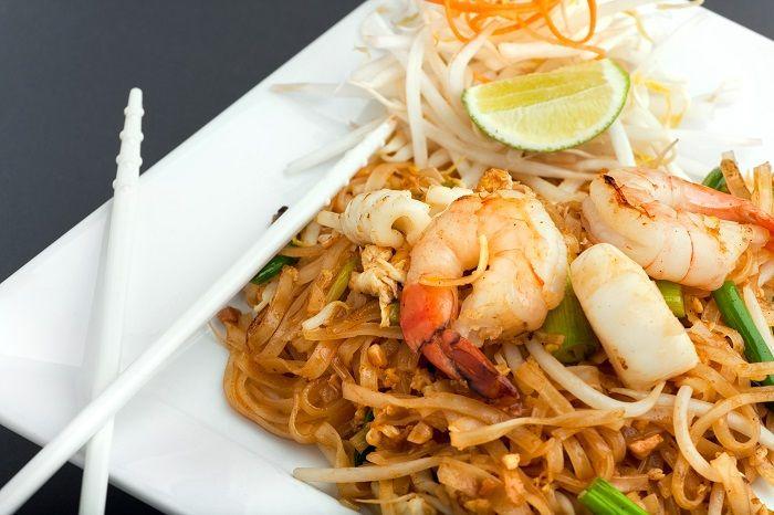 Receita de pad thai, comida tailandesa