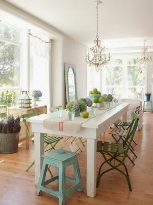 Mixed Dining Chairs In Dining Rooms
