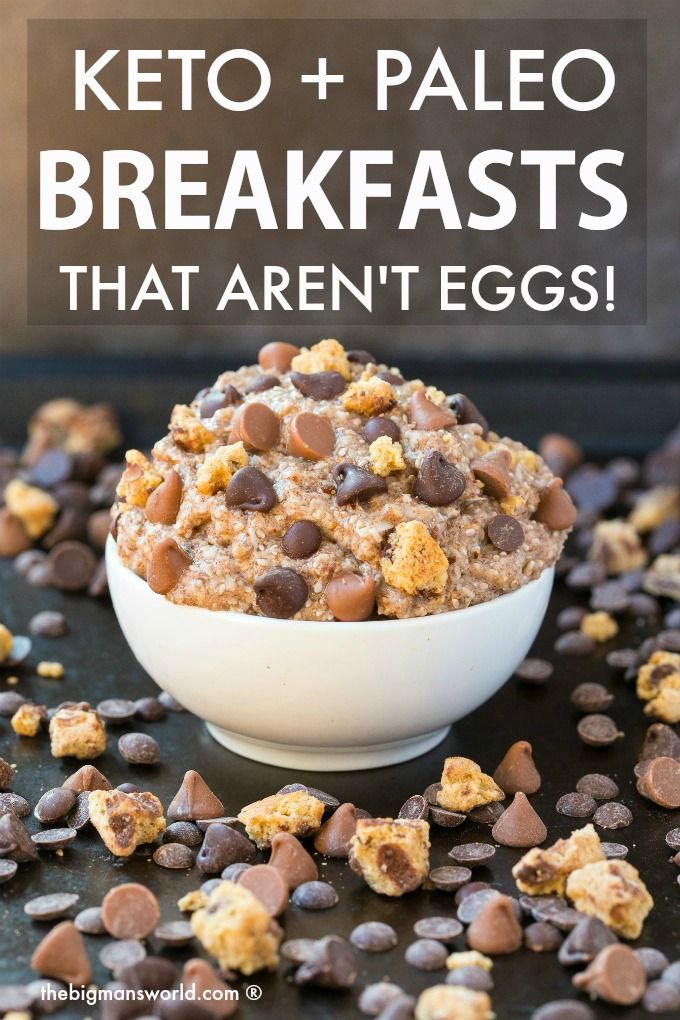 41+ Keto, Paleo AND Vegan Breakfast Ideas which AREN'T EGGS! Easy low carb break…