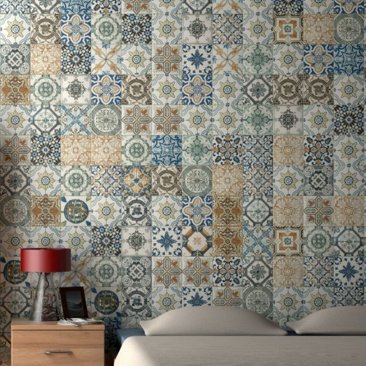 Patchwork Kitchen Wall Tiles: 12 Best Rustic Tiles Images On Pinterest