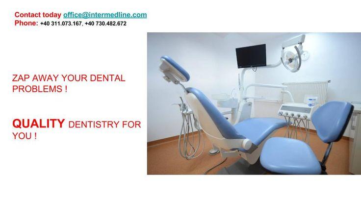 Odontoiatria estetica con faccetti dentali, e intarsi in ceramica in Romania , per Voi !  Prego, vedere di più qui e contattaci subito : http://www.intermedline.com/dental-clinics-romania/ #clinicadentale  #clinicaodontoiatrica #clinicaodontoiatricainRomania #odontoiatriaestetica #odontoiatriaesteticainRomania #dentista #dentistainRomania #turismodentale #turismodentaleinRomania #turismomedico #turismomedicoinRomania #studiodentistico #studiodentisticoRomania