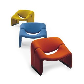 Pierre Paulin   The Is One Of The Most Pure Examples Of Paulinu0027s Sculptural  Design. Inviting, Comfortable And Smart, This Chair Is For Those Who Demand  ...