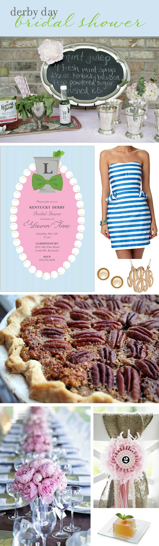 party idea kentucky derby bridal shower