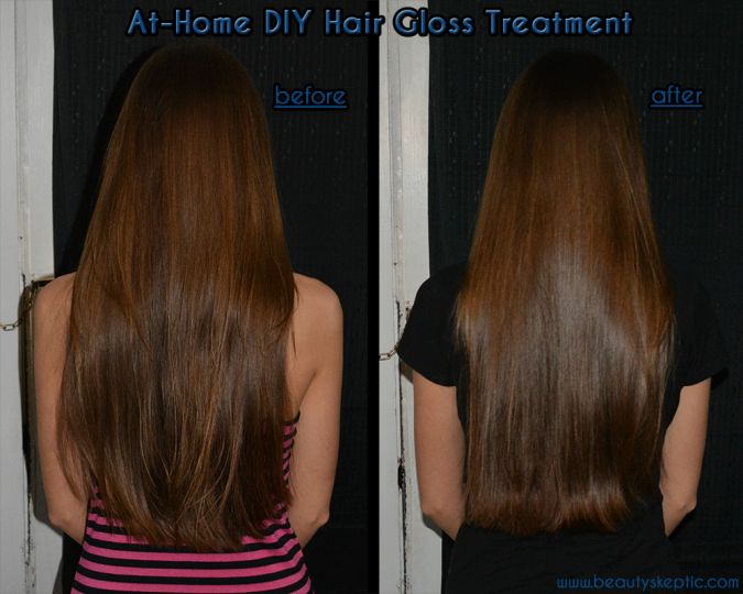 Don't break the bank on salon glossing treatments. You DO NOT need a stylist to do this and you can DIY at home for WAY LESS!