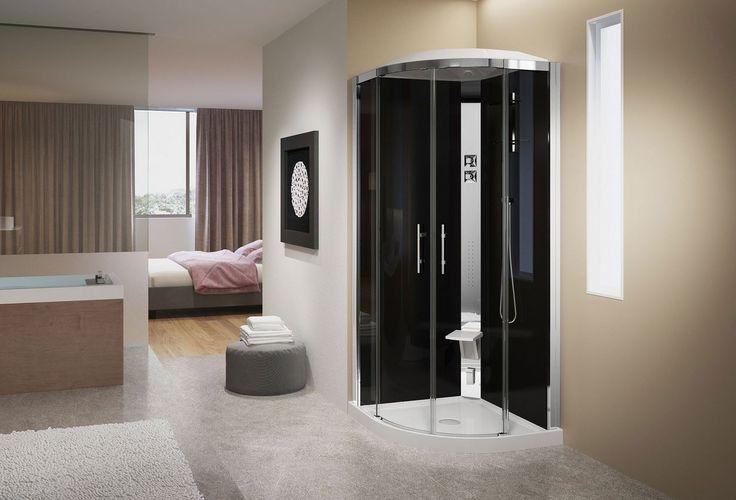 Les 25 meilleures id es de la cat gorie cabine de douche hammam sur pinterest cabine douche - Salon de massage avec finition ...