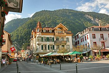 Interlaken, Switzerland : gateway to the Jungfrau