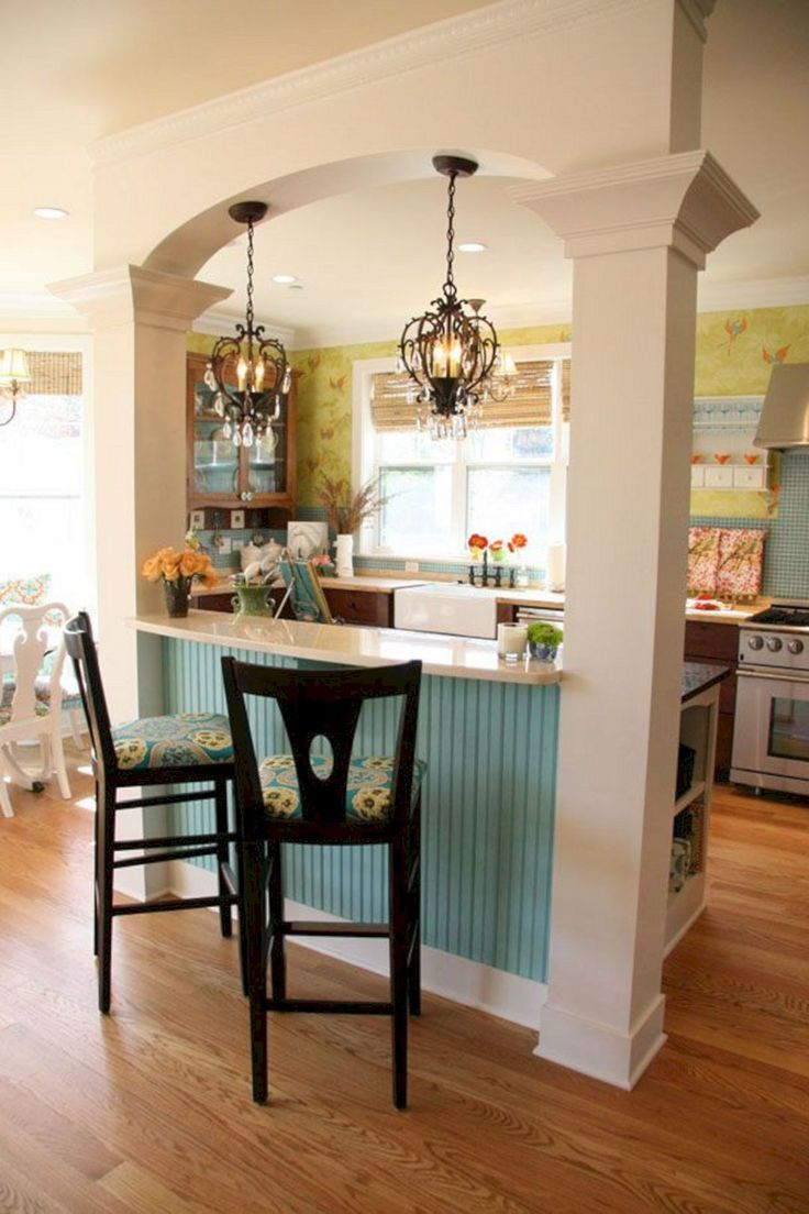 60+ Awesome Kitchen Countertop Bar Designs Ideas For Your