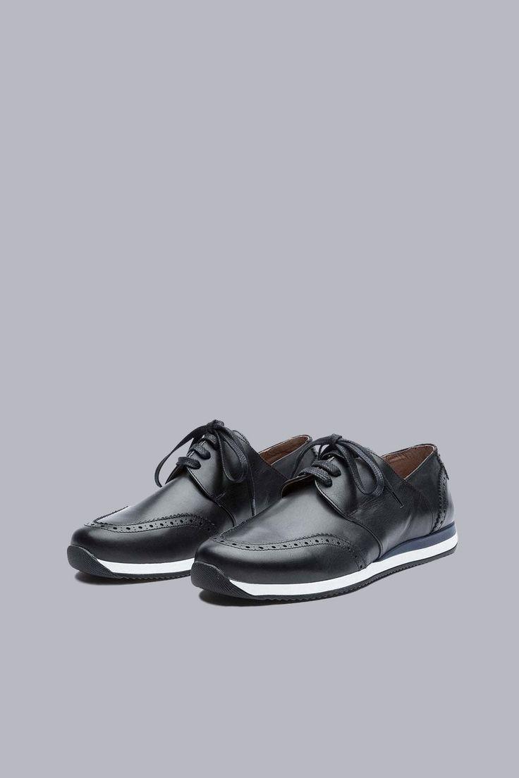 SOULLAND - DFA SNEAKER – BLACK #OzonBoutique #fashion #men #shoes #soulland