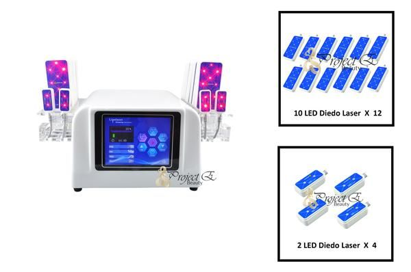 NEW DIODE LIPOLYSIS LIPO LIGHT LASER FAT REMOVAL CELLULITE REDUCTION SLIMMING BEAUTY MACHINE