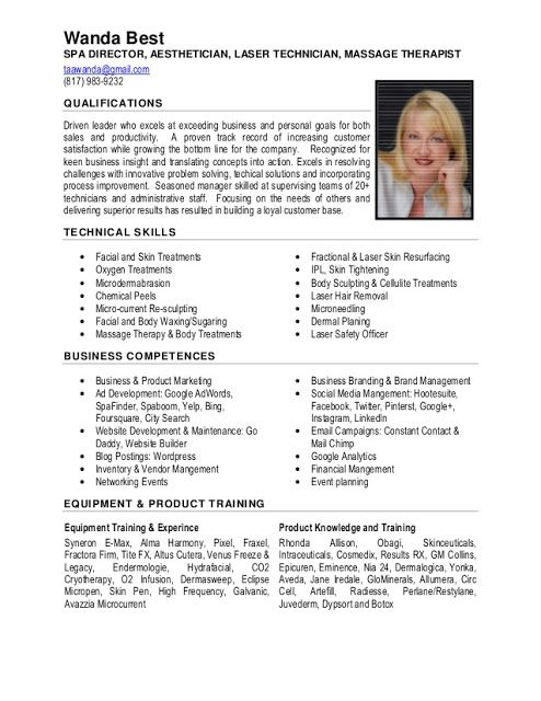 Excellent Resume Sample | Sample Resumes