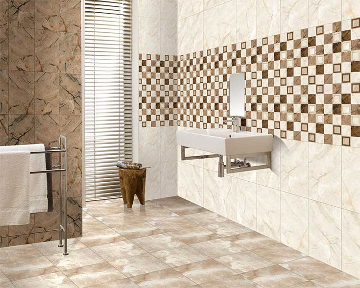 30x45 cm digital wall tiles from kajaria the rich and for Bathroom designs kajaria
