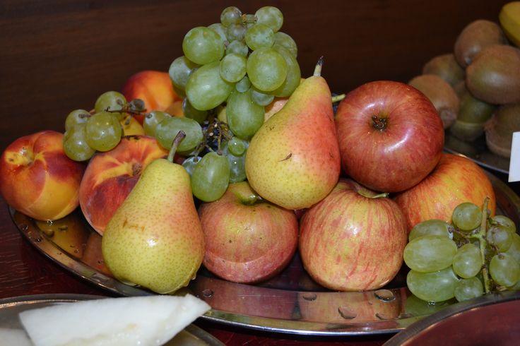 Breakfast fresh fruits!