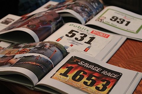 Love this idea!  I think I will start it this year, my collection of bibs is getting out of hand