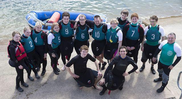 2014 Varsity Canoe Polo team (Swansea University Canoe Club)
